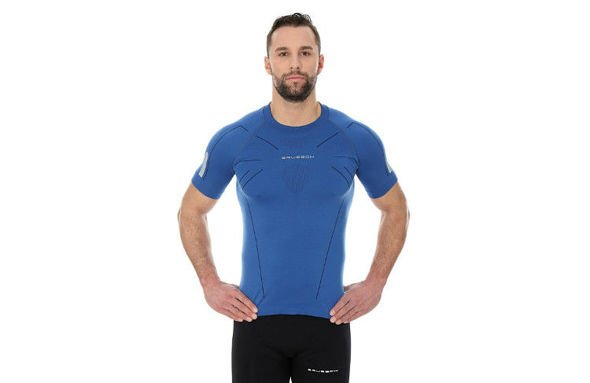 BRUBECK ATHLETIC  SS11090 niebieska