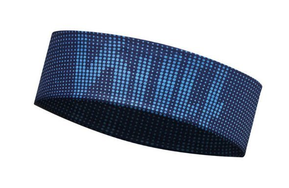 BUFF UV HEADBAND SLIM DEEP LOGO DARK NAVY