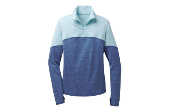 Brooks ESSENTIAL LS  1/2 ZIP III damska