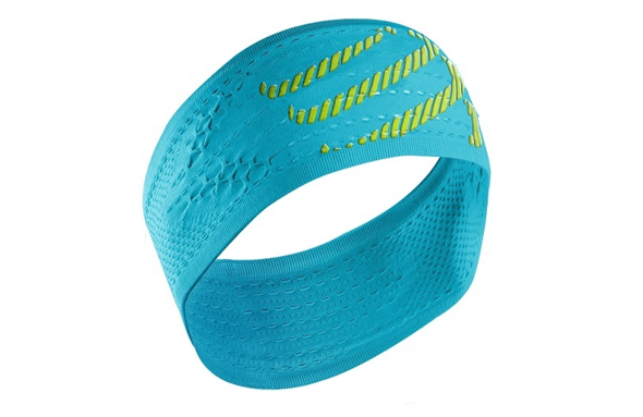 COMPRESSPORT HEADBAND ON/OFF niebieska