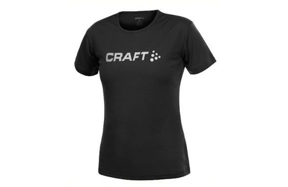 Craft ACTIVE RUN LOGO TEE WOMEN damska