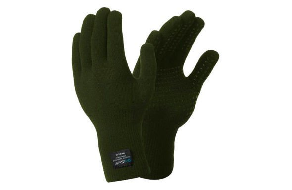 DEXSHELL THERMFIT GLOVES zielone