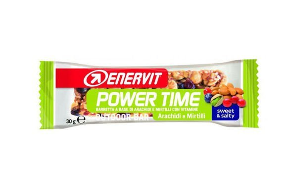 ENERVIT POWER TIME OUTDOOR BAR 30g orzeszki ziemne i jagoda