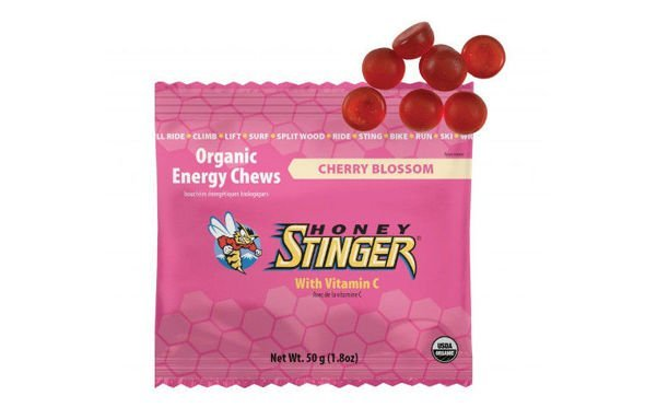 HONEY STINGER ENERGY CHEWS wiśnia