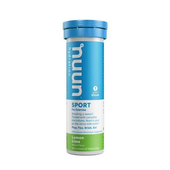 NUUN ACTIVE TROPICAL 10 tabl. cytrynowo-limonkowy