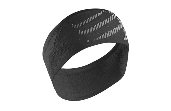 Opaska na głowę Compressport HeadBand On/Off czarna