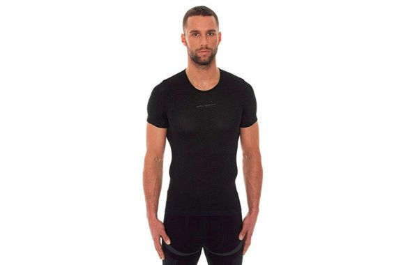 BRUBECK BASE LAYER SS10540 czarna