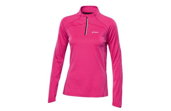 Damska bluza do biegania Asics WINTER 1/2 ZIP TOP AW13