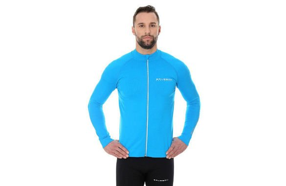 BRUBECK ATHLETIC LS14080 niebieska