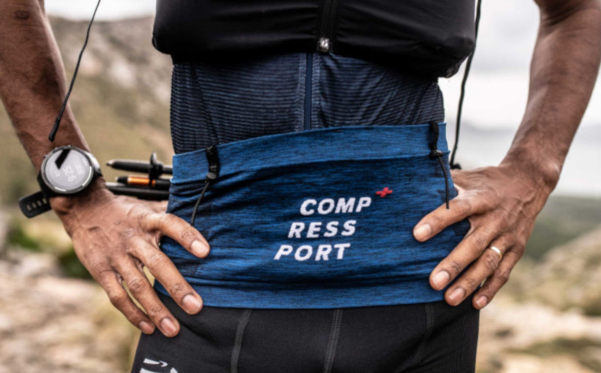 Pas do biegania Compressport Free Belt Pro