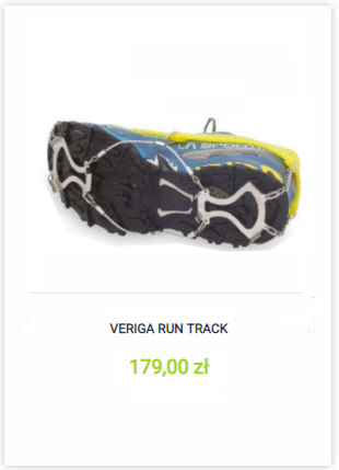 Veriga Run Track Light`