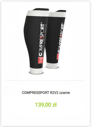 Opaski Compressport R2V2