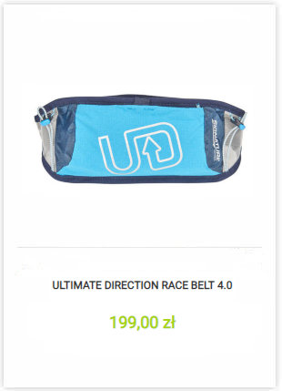 Pas Ultimate Direction Race Belt