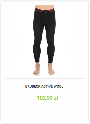 Getry termoaktywne Brubeck Active Wool