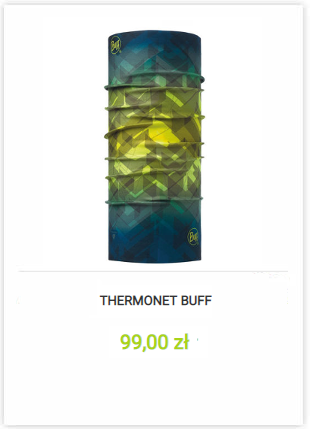 Chusta Buff Thermonet
