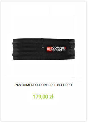 Pas Compressport Free Belt Pro