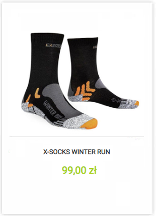 Skarpety X-Socks Winter Running