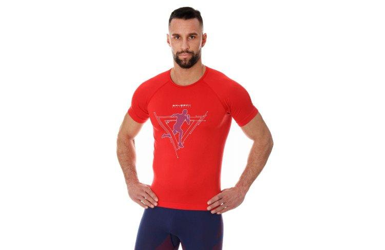 794e450c2ed702 Brubeck Running Air Pro SS19 czerwona - Sklep Natural Born Runners