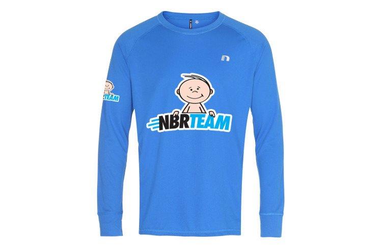 320cc4ffc8bf22 Koszulka Newline Base Shirt niebieska z Twoim nadrukiem - Sklep ...