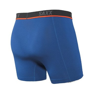 BOKSERKI DO BIEGANIA SAXX KINETIC HD BOXER BRIEF CITY BLUE SS20 niebieskie