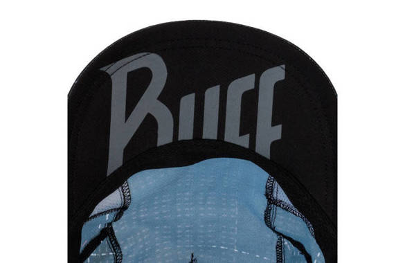 BUFF PRO RUN CAP R-LITHE BLACK czarna