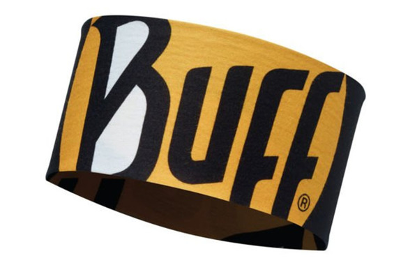 BUFF UV HEADBAND COOLNET ULTIMATE LOGO BLACK SS19