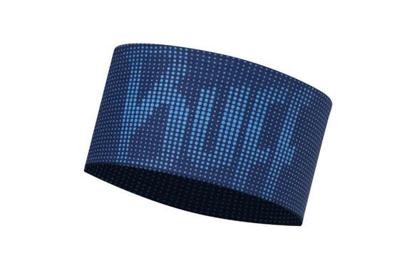 BUFF UV HEADBAND DEEP LOGO DARK NAVY