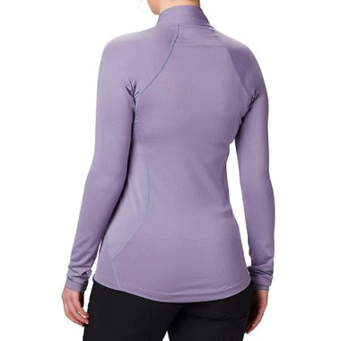 COLUMBIA MIDWEIGHT STRETCH LONG SLEEVE HALF ZIP AW19 damska fioletowa