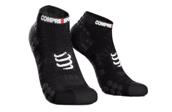 COMPRESSPORT PRO RACING SOCKS RUN LOW V3.0 czarne