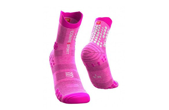 COMPRESSPORT PRO RACING SOCKS V3.0 TRAIL PINK MELANGE SS20 różowe