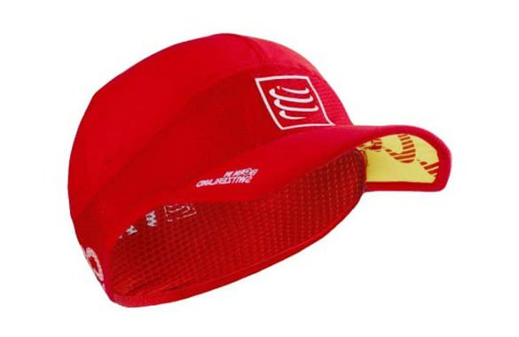 COMPRESSPORT PRORACING ULTRA LIGHT CAP czerwona