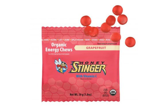 HONEY STINGER ENERGY CHEWS grejpfrut