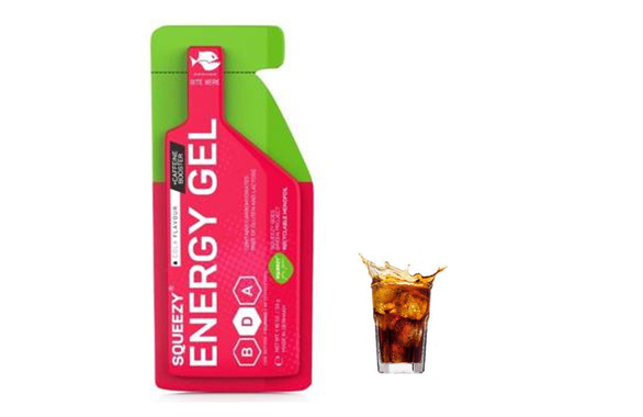SQUEEZY ENERGY SUPER GEL 33g cola + kofeina