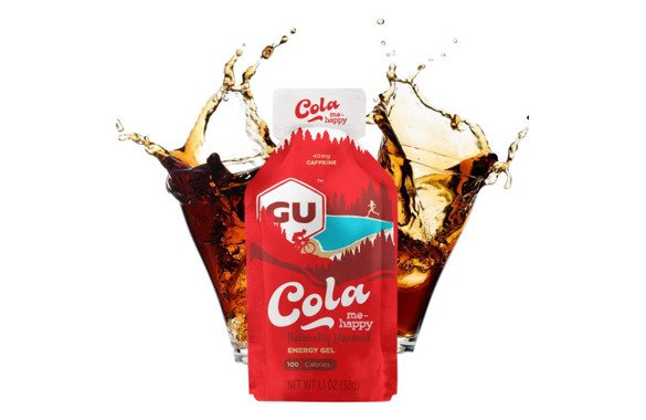 ŻEL GU ENERGY GEL COLA ME HAPPY 32 g cola z kofeiną